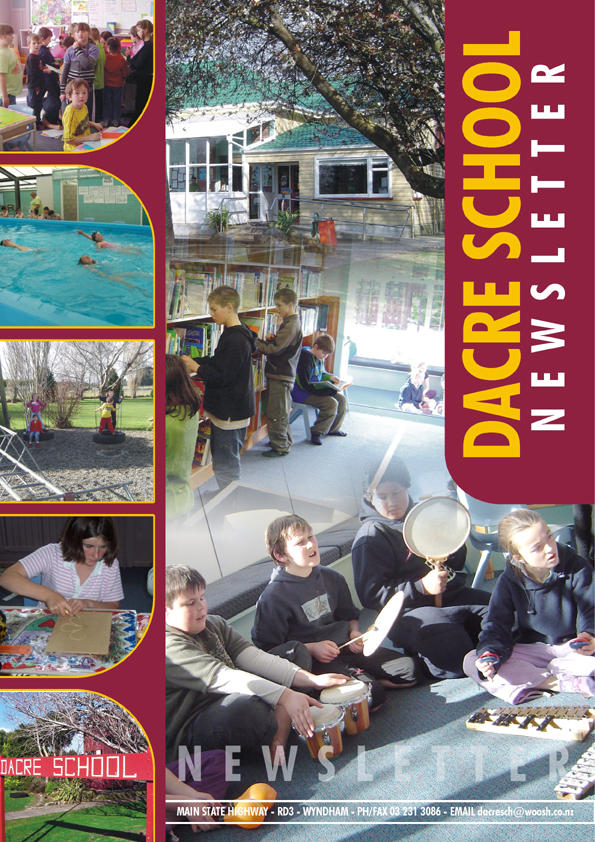 dacre school newsletter cover