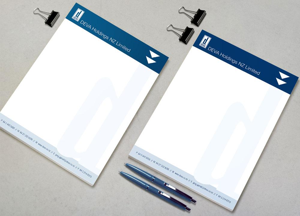 letterhead design Invercargill