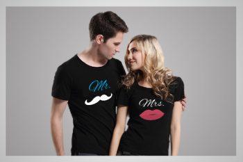Couple Printed T-Shirts