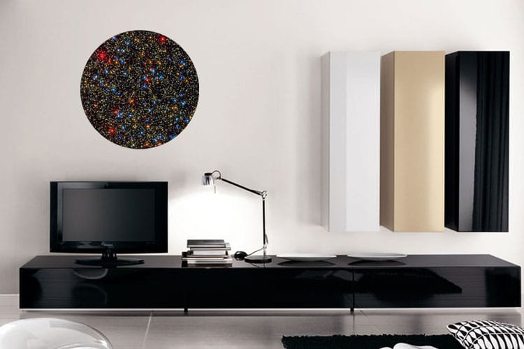 Super Cluster Wall Dot Stickers Space Wall Dots I Cue