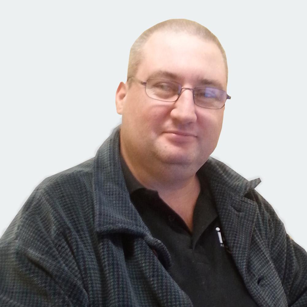 Andrew Kerr - graphic Designer - I-CUE
