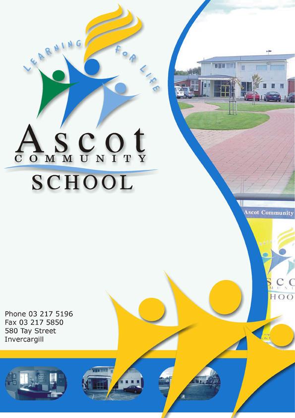 ascot community school newsletter cover