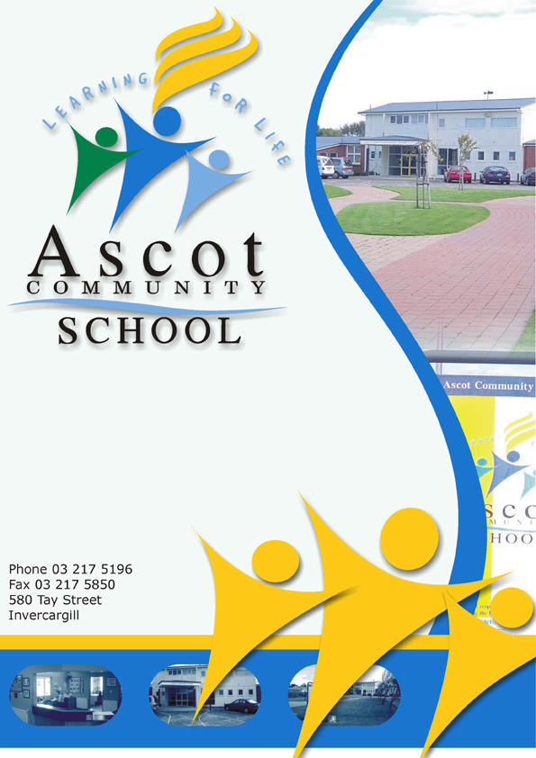 ascot community school newsletter cover