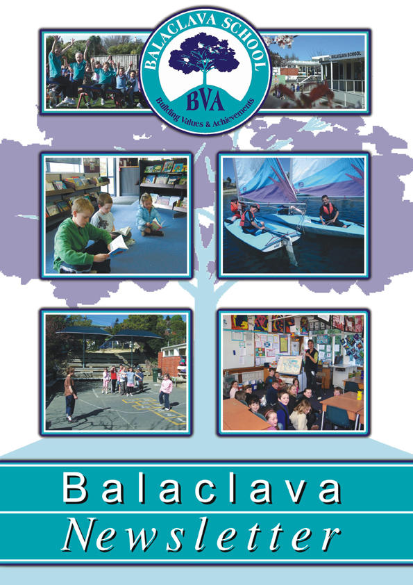 balaclave school newsletter cover