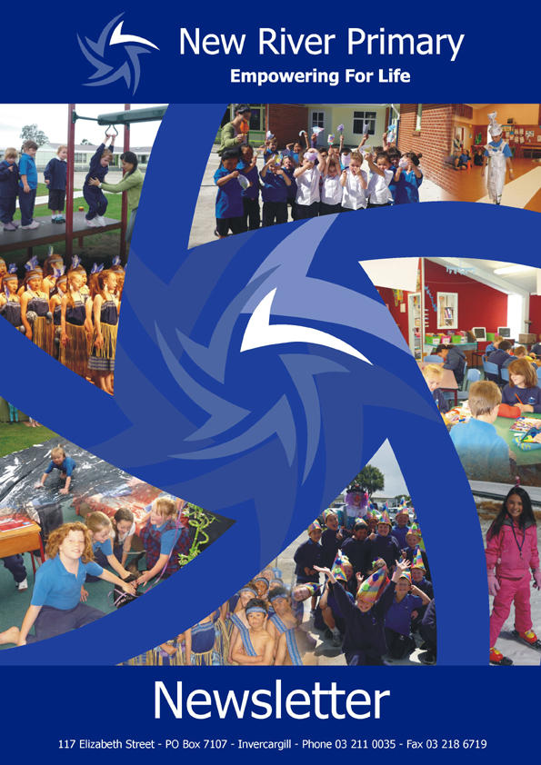 new river primary school newsletter cover