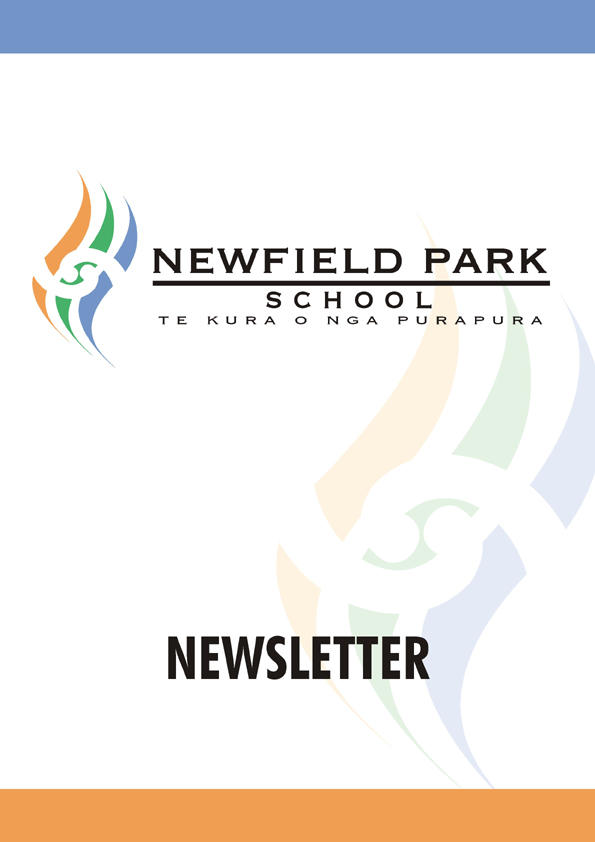 newfirld park school newsletter cover