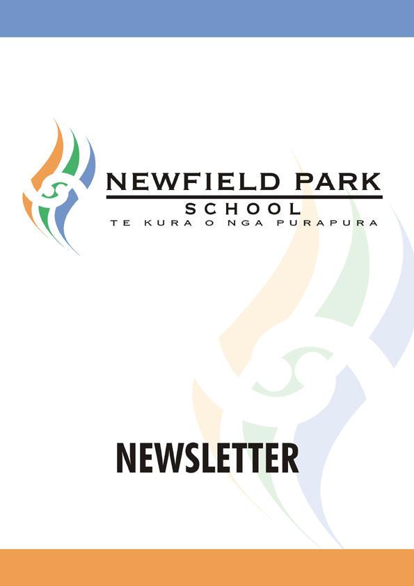 newfirld park school newsletter cover