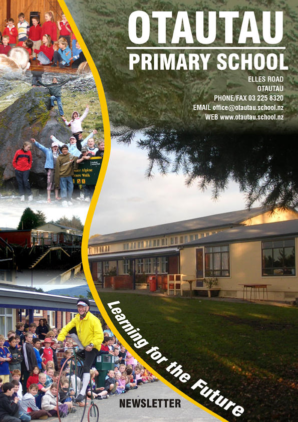 otautau school newsletter cover