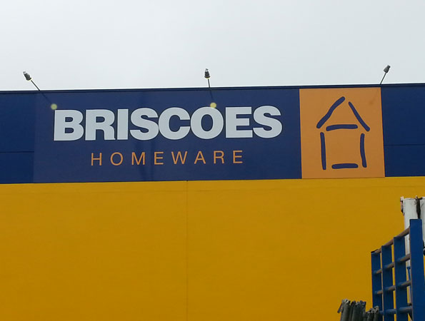 Next Install ACM sign for Briscoes