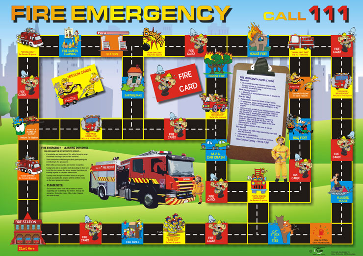 fire services board game