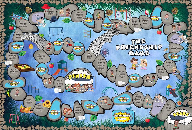 friendship board game