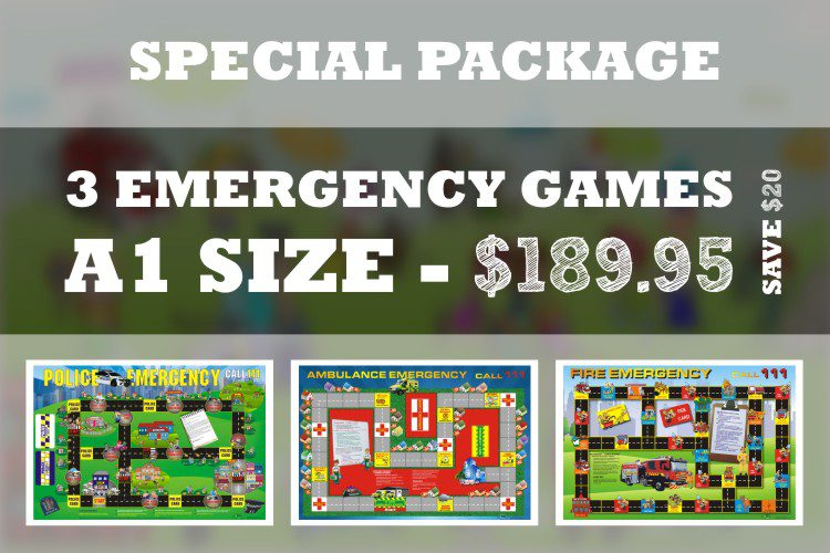 emergency services board games
