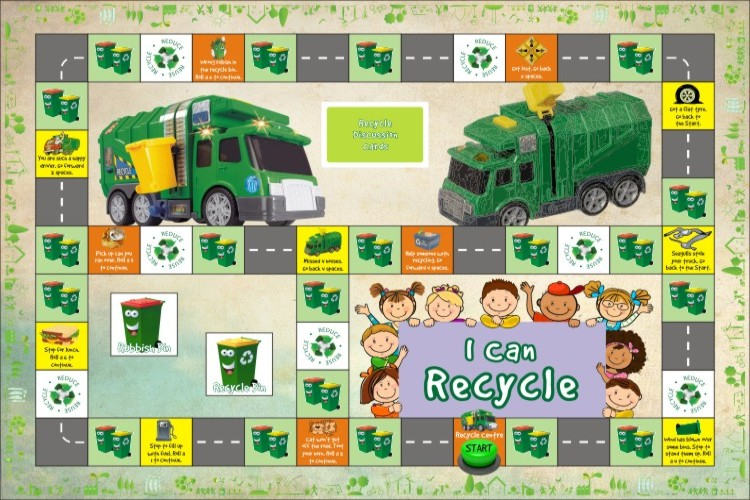 recycle board game