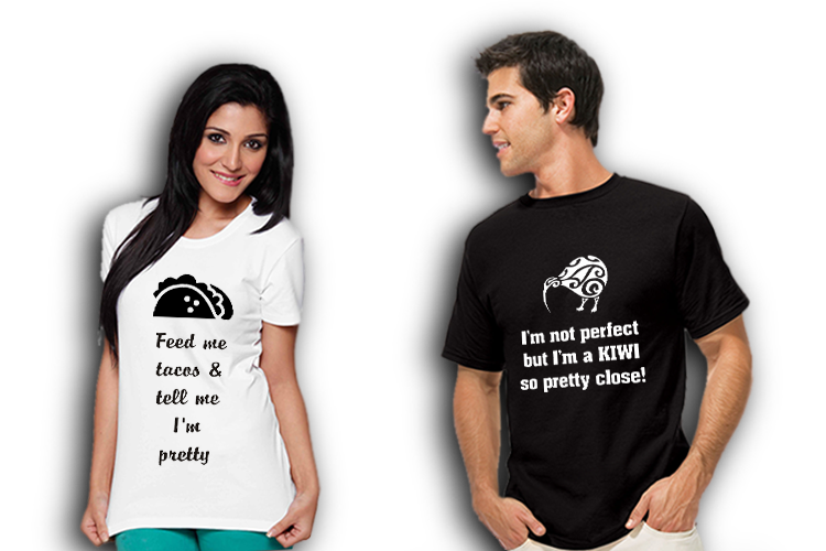 Funny and inspirational t-shirts