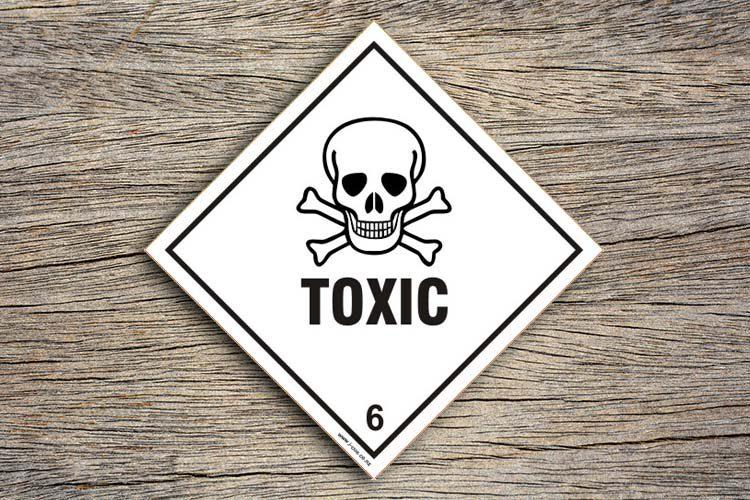 Toxic HAaard Sign