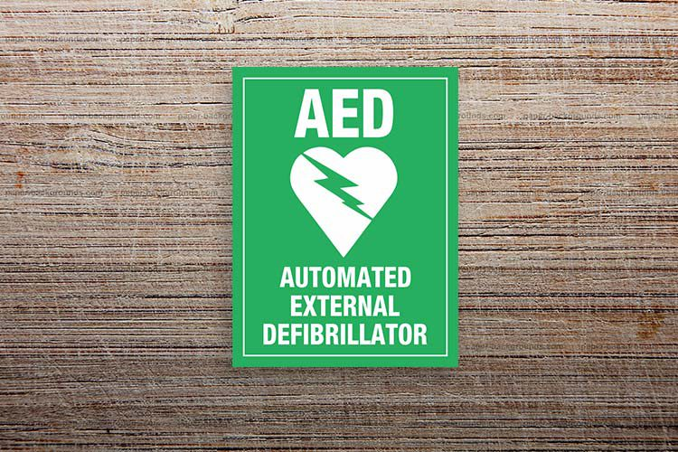 AED Information Sign