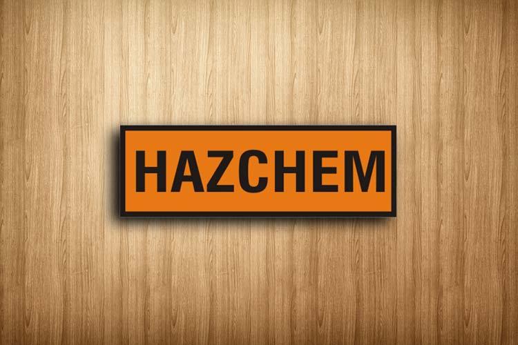 Hazchem Sign Chemical Signs I Cue Invercargill