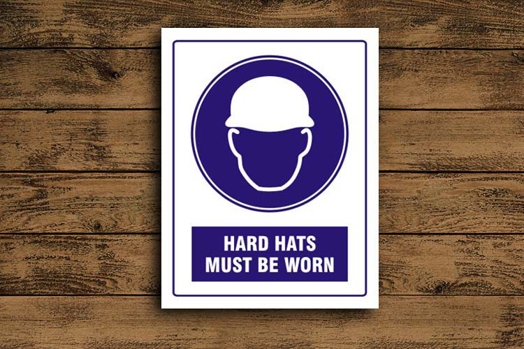 Hard Hats must be worn