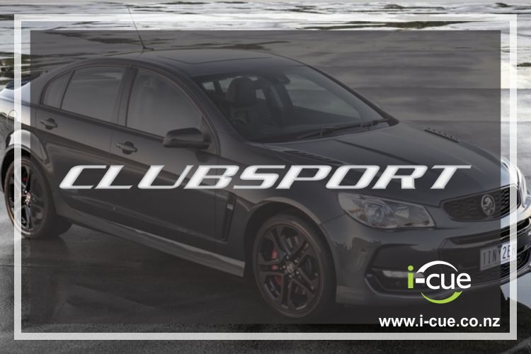 Holden Commodore Clubsport Decal