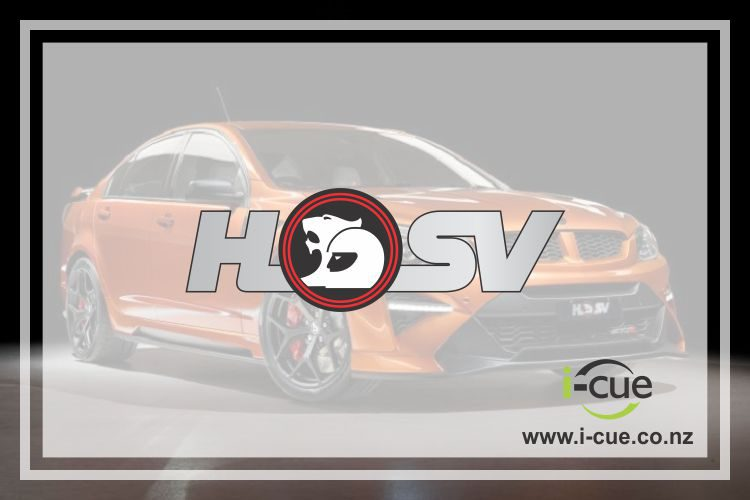 Holden Commodore HSV decal