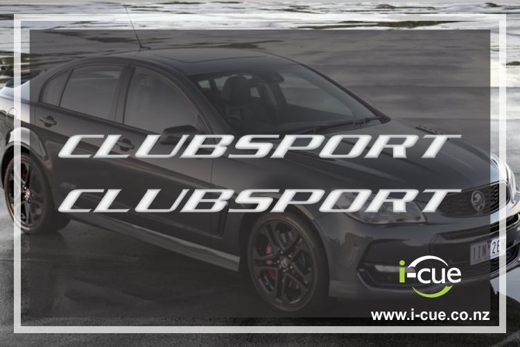Holden Commodore Clubsport side skirt decal