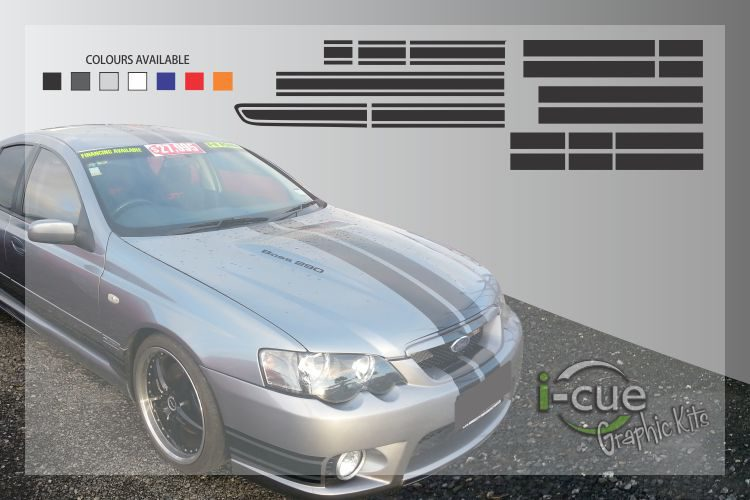 Ford Falcon GT Full Graphic Kit