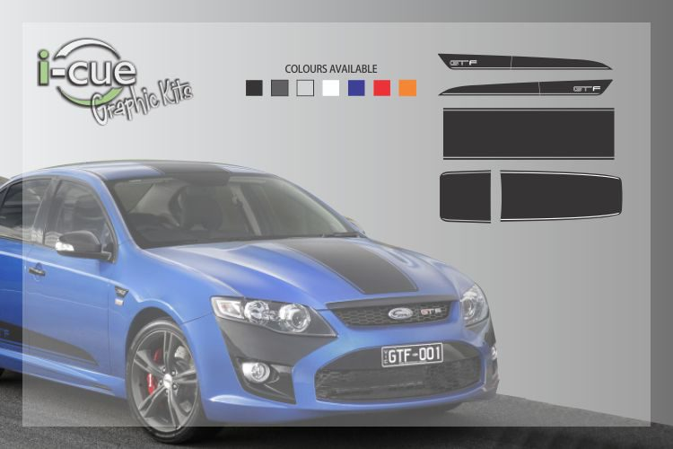Ford Falcon GTF Full Graphic Kit