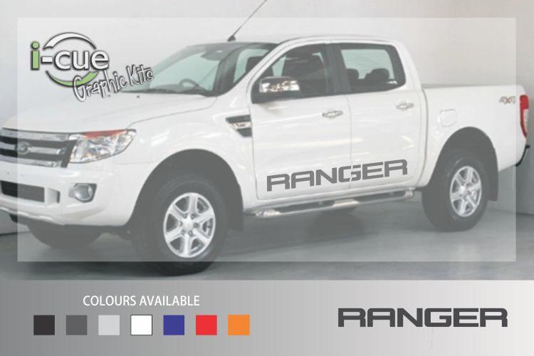 Ford Ranger Side Lettering Decal