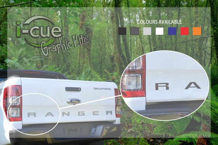 Ford Ranger Back tailgate Lettering Decal