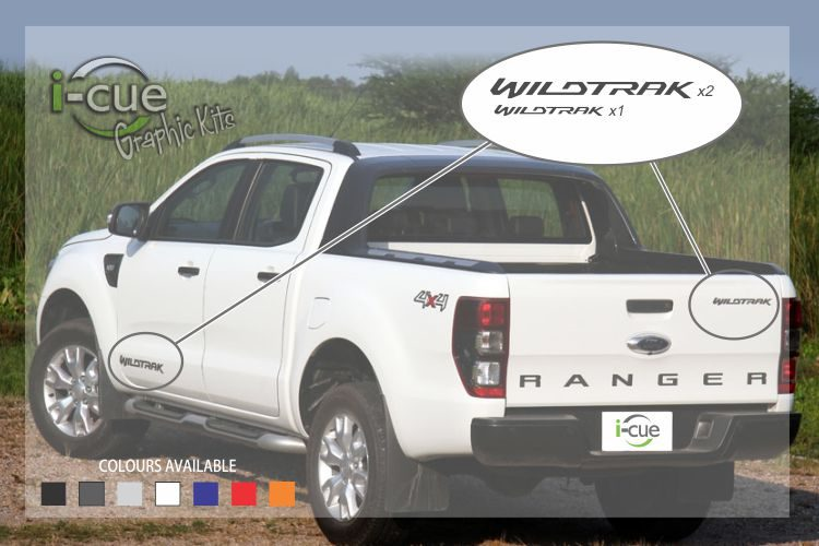 Ford Ranger Wildtrak Decals