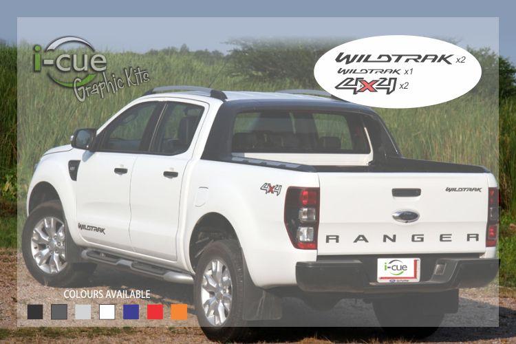 Ford Ranger Wildtrak 4x4 Graphic Kit