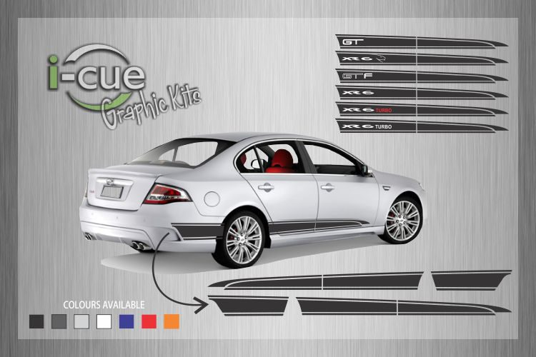 Ford Falcon FG Side Stripes Decal
