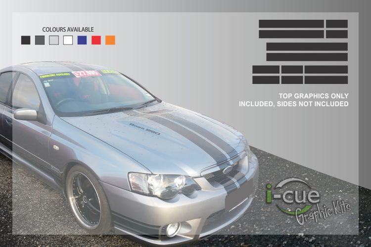 Ford Falcon BA BF Top Graphic Kit