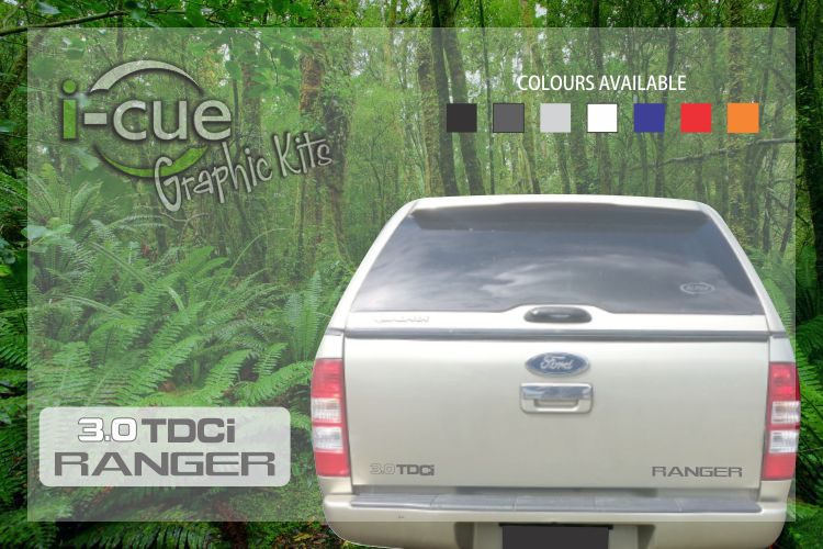 Ford Ranger Back tailgate 3.0 TDCi Ranger Decal