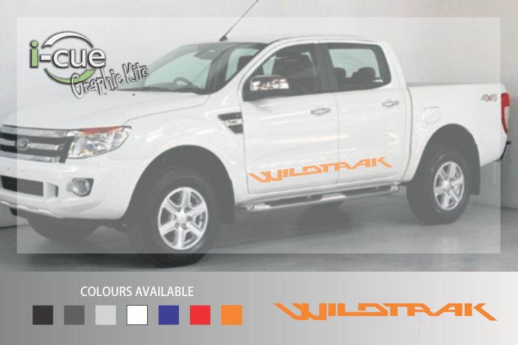 Ford Ranger Wildtrak Side Lettering Decal
