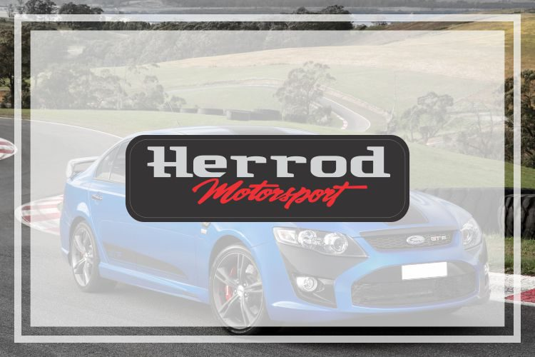 Ford Herrod Motorsport Domed Badge