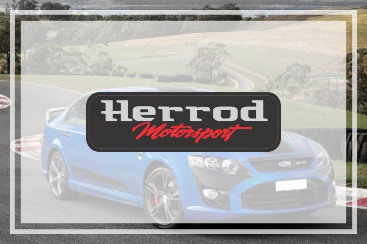 Ford Herrod Motorsport Domed Badge
