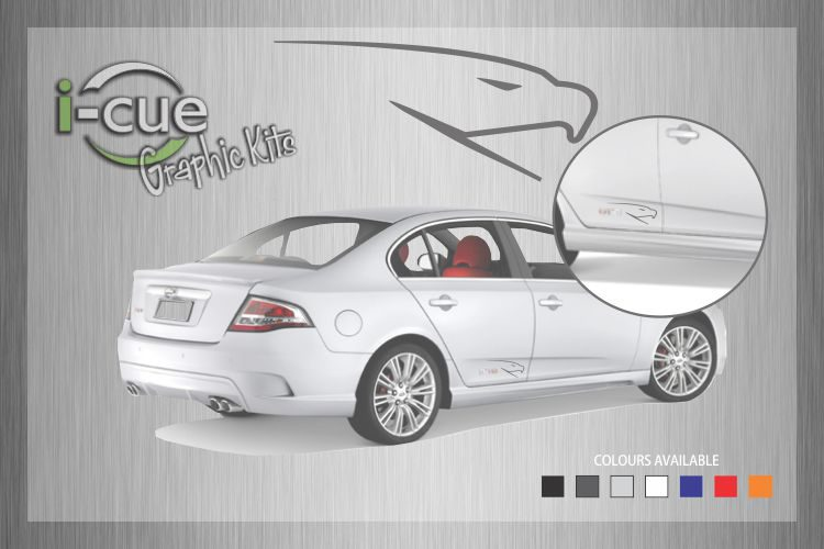 Ford Falcon Rear Door Bird Decal