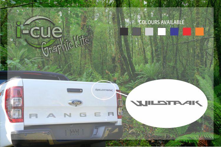 Ford Ranger Back Tailgate Wildtrak Decal