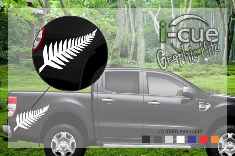 Fern Leaf Vehicle Decal