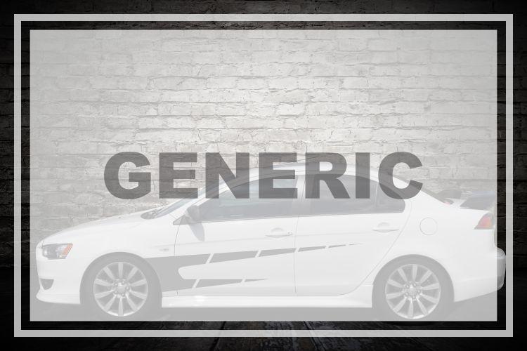 Generic Vehicle Decals