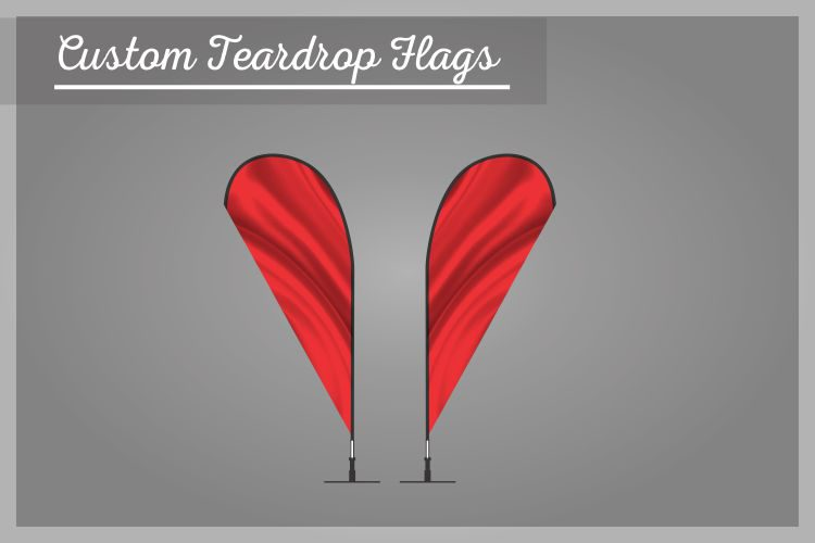 Custom Teardrop Flags
