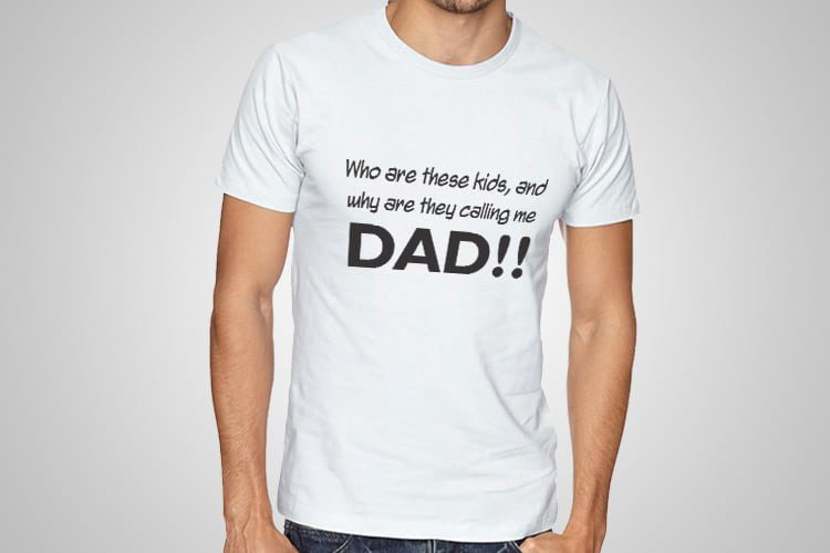 Calling Me Dad Funny T-Shirts