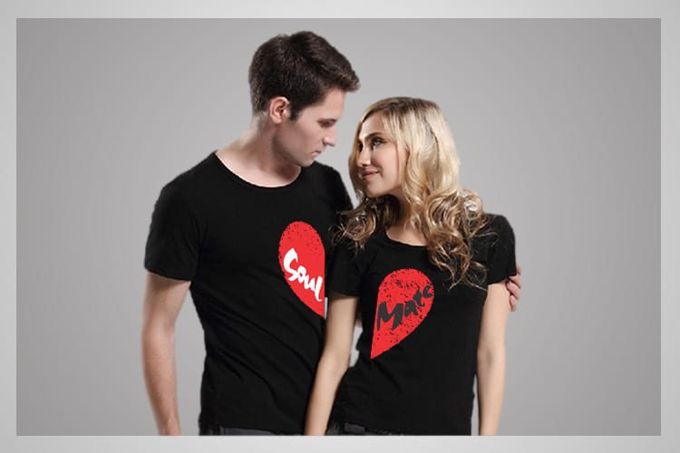 Soul Mate Couple T-Shirts