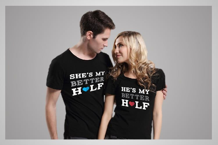 Better Half Couple T-Shirts