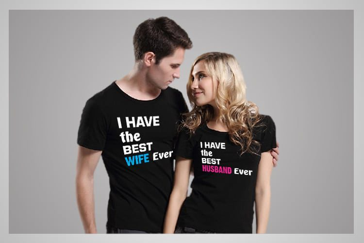 Best Husband Wife Couple T-Shirts