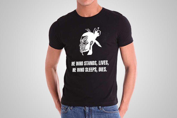 He Who Stands Kiwiana T-Shirts