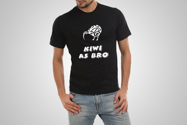 Kiwi As Bro Kiwiana T-Shirts