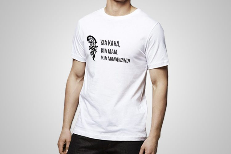 Kia Kaha Kiwiana T-Shirts