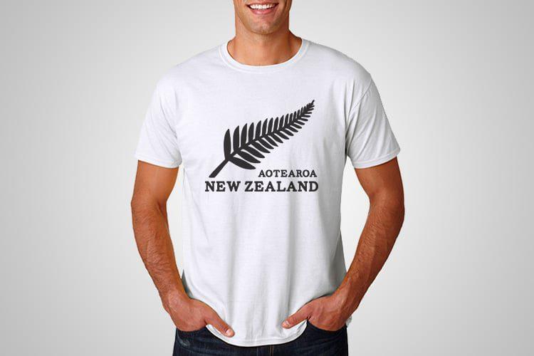 Aotearoa New Zealand Kiwiana T-Shirts